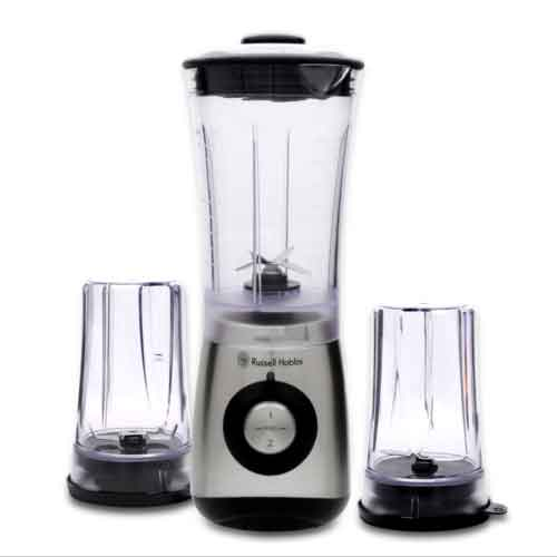 russel hobbs multi mini blender mixer chopper rh 350bk 600ml 350w strong motor ebay. Black Bedroom Furniture Sets. Home Design Ideas